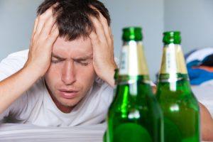 После отравления алкоголем тяжело дышать