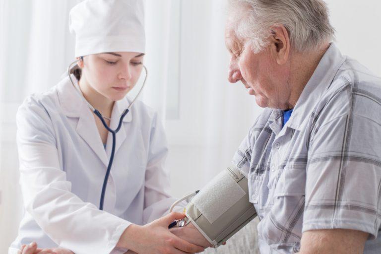Клинические синдромы при гипертонической болезни