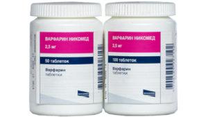 Антикоагулянты основные препараты