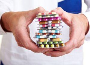 Лечение подагры медикаментами